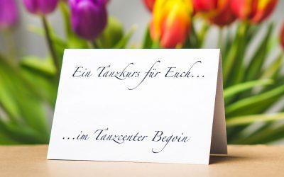 Die NEUE Tanzsaison beginnt im März 2021 im Tanzcenter Begoin