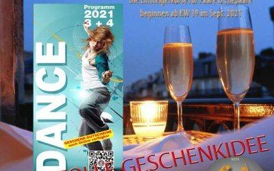 Die Tanzsaison im Herbst beginnt im Sept./Okt. 2021 im Tanzcenter Begoin in Pulheim