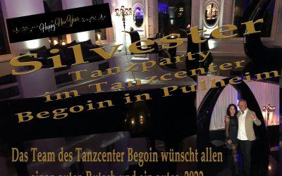 Silvester Tanzparty 2021-2022 im Tanzcenter Begoin in Pulheim