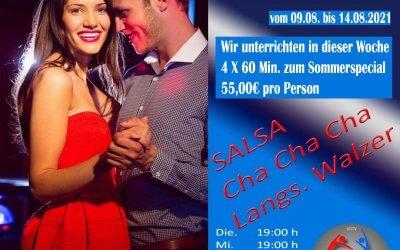 3 Tänze in einer Woche erlernen im Tanzcenter Begoin in Pulheim
