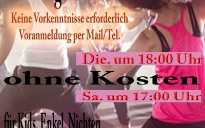 Zumba- Salsa- Bachata Workshop im Tanzcenter Begoin in Pulheim